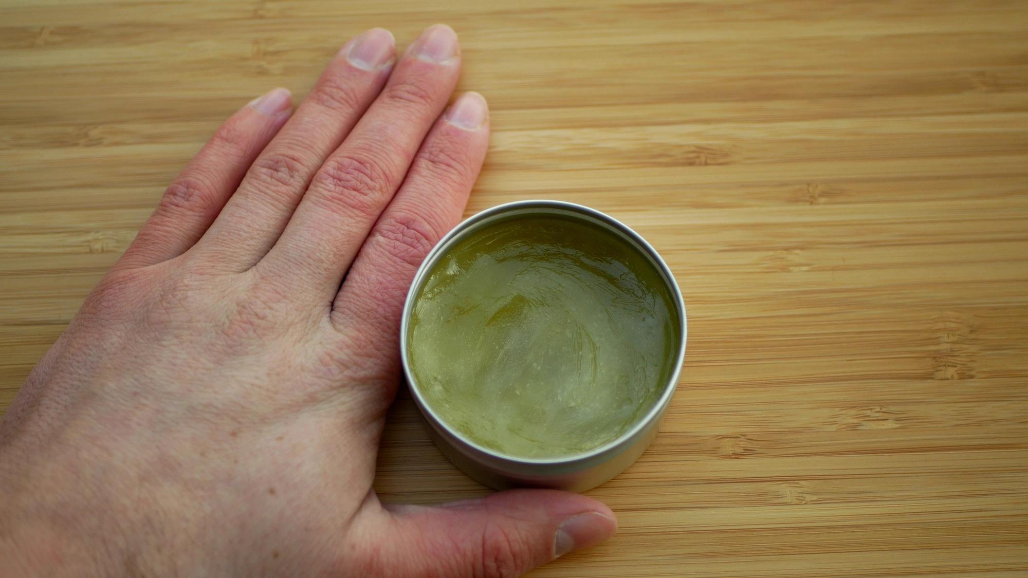 cbd cream from cbd paste